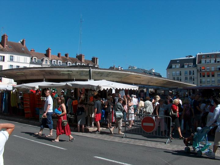 Photo de voyage fontainebleau france n 14 le march for Piscine fontainebleau