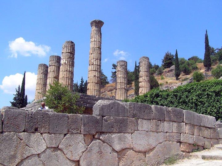 Photo de s jour en h tel club en gr ce n 83 temple d 39 apollon for Sejour en grece